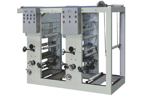 2 color gravure printing machine