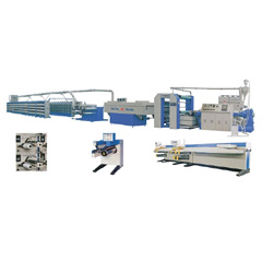 high speed flat yarn extrusion line