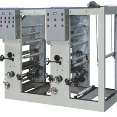 2 color gravure printing machine