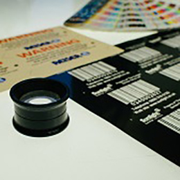 metal equipment labels