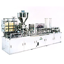 Fully automatic filling & packing machine for pre formed plastic cups YK-103-C 260-350-500-750-1000