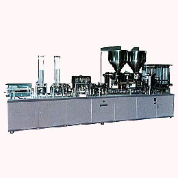 Fully automatic filling & packing machine forfermend soybean paste cup